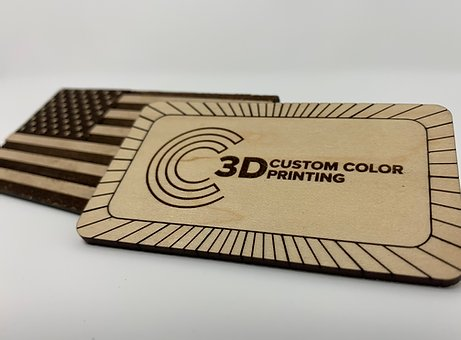 3D Custom Color Printing Example